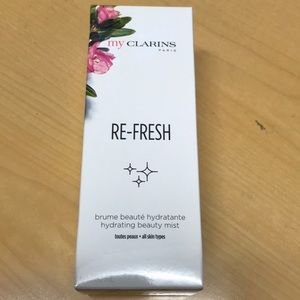 My clarins refresh beauty mist